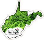 State of West Virginia Magnets